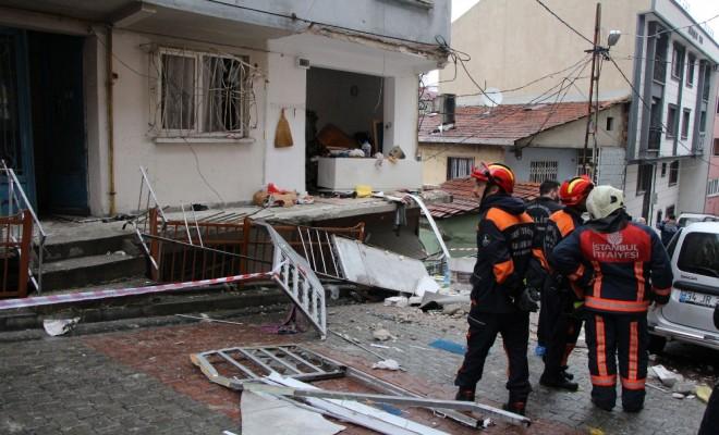 Tüp Bomba Gibi Patladı: 1 Yaralı
