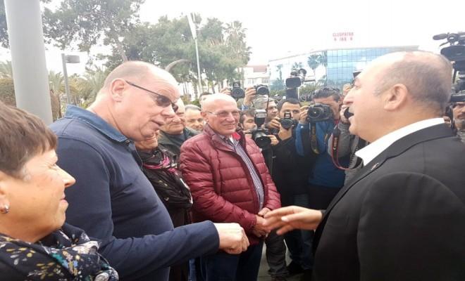 Bakan Çavuşoğlu Yerleşik Hollandalılarla Sohbet Etti