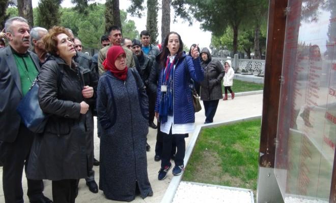 15 Temmuz Şehitlerinin Yakınları Çanakkale Şehitliğinde