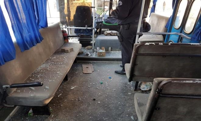 Otobüsler Tahrip Edildi: Kafasına Taş İsabet Eden Kaleci Yaralandı