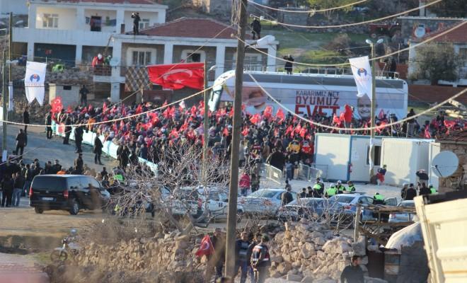 Başbakanın Mitingi Öncesi 3.8 Büyüklüğünde Deprem