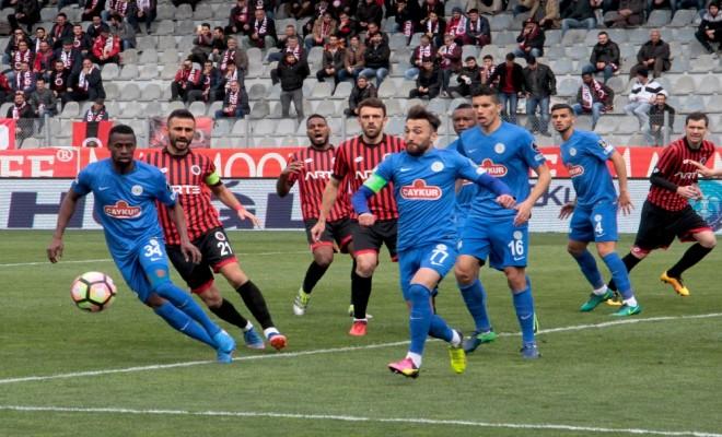 Spor Toto Süper Lig'in 25. haftasında Gençlerbirliği Tek Golle Kazandı