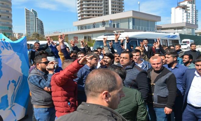 Meral Akşener Mersinde Protesto Edildi