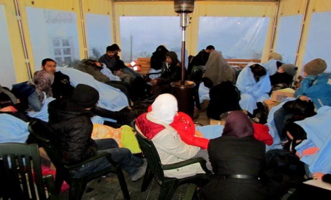 Çeşmede 105 Sığınmacı Yakalandı