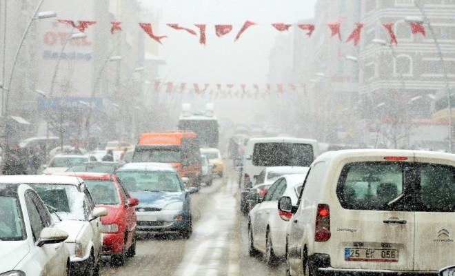 Doğu Yeniden Kar Altında