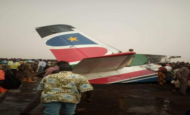 44 Kişiyi Taşıyan Uçak Düştü