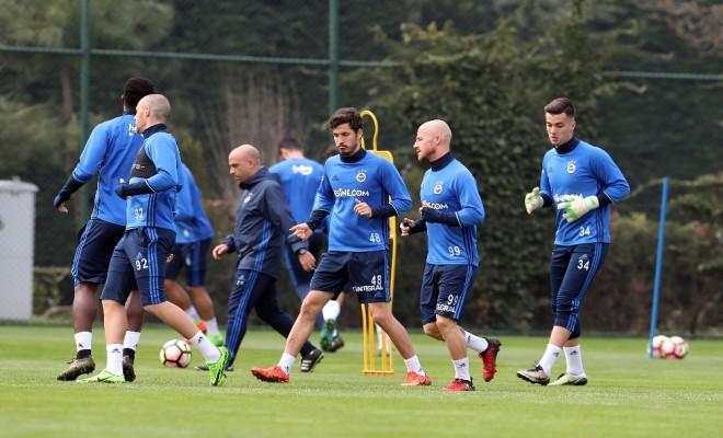 Fenerbahçede Karabükspor Hazırlıkları Devam Etti