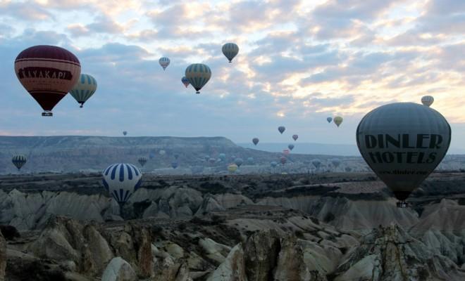 Kapadokya Semaları Hareketleniyor