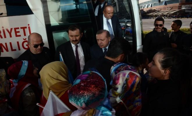 Cumhurbaşkanı Erdoğan Üniversitelilerle Buluştu