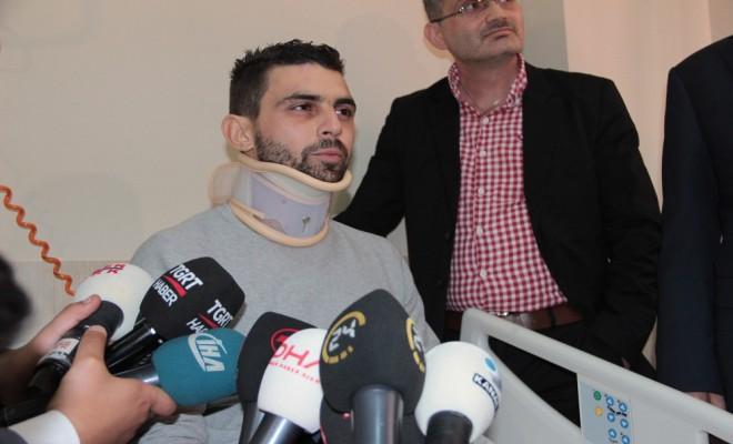 Hollandada Saldırıya Uğrayan Hüseyin Kurt, Türkiyede