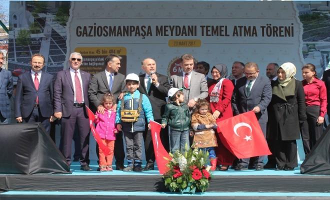 Başkan Topbaş, Sazlıdere Barajı İle İlgili Konuştu