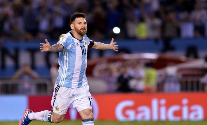 Arjantini Messi Sırtladı