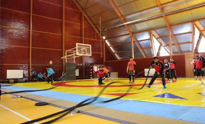 Grekoromen Milli Güreş Takımı Kampa Girdi