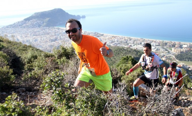 Alanya Ultra Maratonu 110 Sporcunun Katılımıyla Başladı