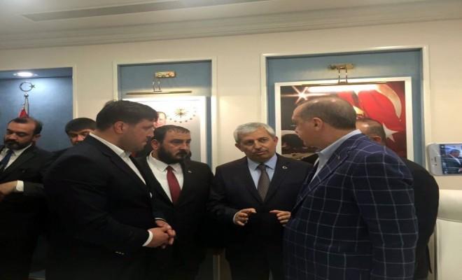 Başpehlivan Kara Cumhurbaşkanı Erdoğan İle Bir Araya Geldi
