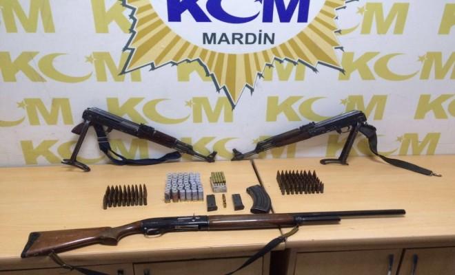 Mardinde Silah Kaçakçılarına Darbe