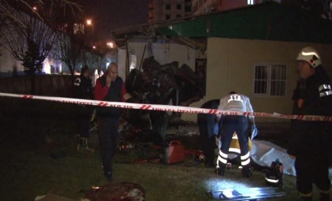 Ankarada Korkunç Kaza: 4 Ölü, 1 Yaralı