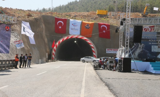 Bakanlardan Tünel Açılışı