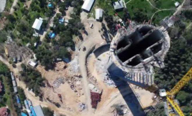 Çamlıca Tv Kulesinin Son Hali Havadan Görüntülendi