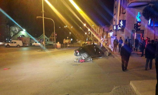 Otomobille Motosiklet Çarpıştı: 2 Ölü, 2 Yaralı