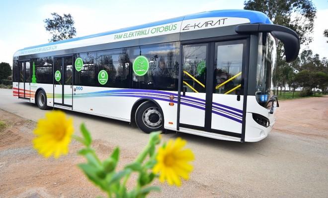 Türkiyenin İlk Tam Elektrikli Otobüsleri Geliyor