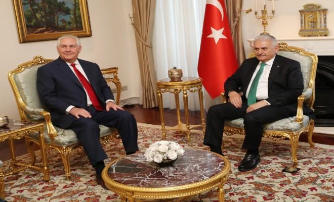 Başbakan Abd Dışişleri Bakanını Kabul Etti