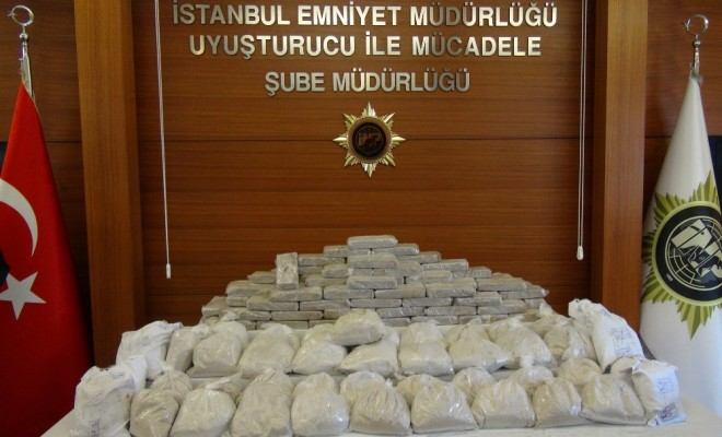 5 Milyon Euroluk Eroin Operasyonu Kamerada