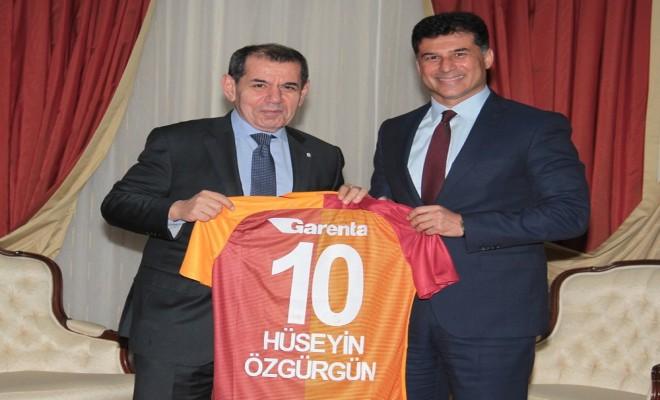 Dursun Özbek Kktc Başbakanını Ziyaret Etti