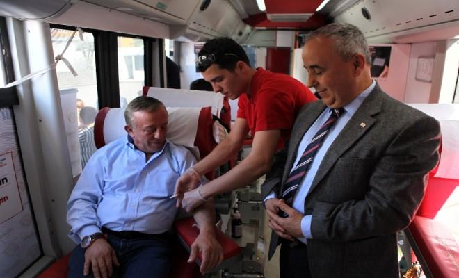 Ağaoğlu: Kan Bağışı Sürekli Hale Getirilmeli
