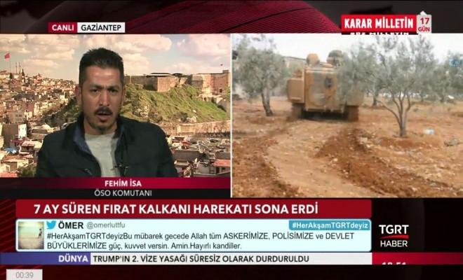 Öso Komutanı Abd Ve Rusyanın Suriye Planlarını Açıkladı