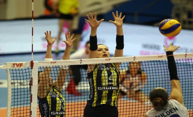 Fenerbahçe Halkbanka Fırsat Vermedi