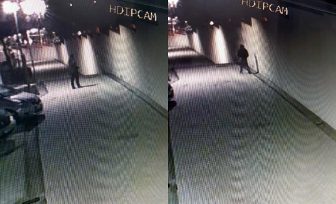 Örümcek Adamı Andıran Hırsızlar Kamerada
