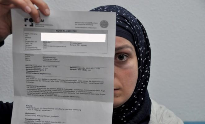 Almanyada 3 Türk Kadınına Saldırı