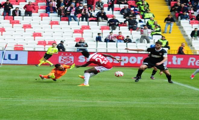 Sivasspor: 2 - Manisaspor:0