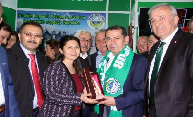 Dursun Özbek Giresun Günlerine Katıldı