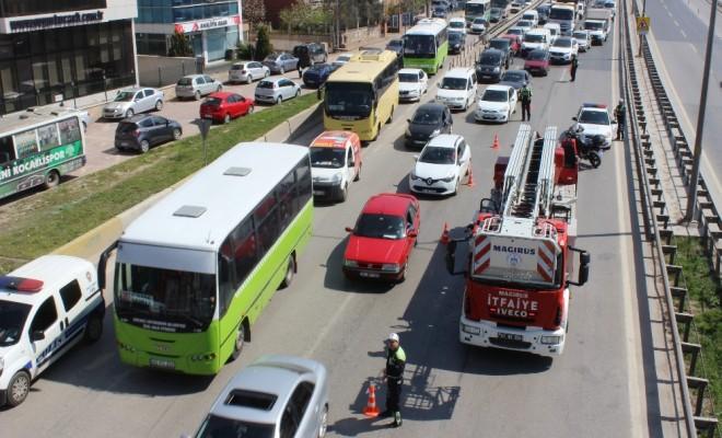 İstanbul İstikametini Kilitleyen İntihar Girişimi