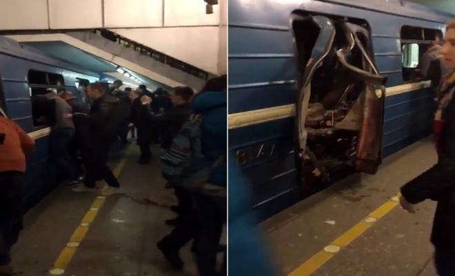Rusyada Metroda Patlama: 10 Ölü, 50 Yaralı