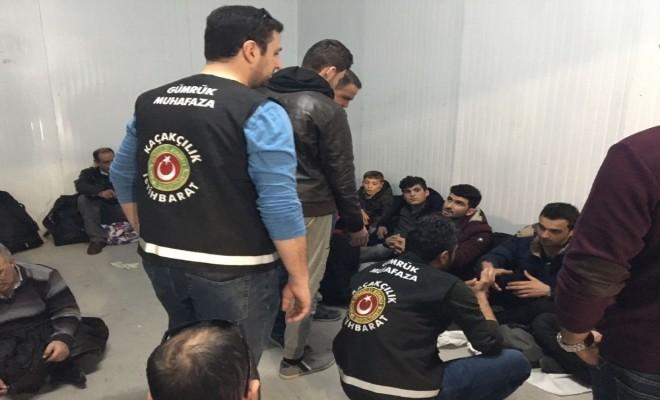 76 Kaçak Göçmen Karbonmonoksit Ölçüm Cihazı İle Yakalandı