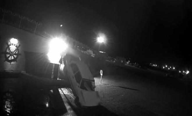 Hem Ehliyetsiz Hem Alkollü: Araç Böyle Uçtu