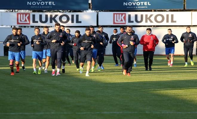 Trabzonsporda Beşiktaş Mesaisi Sürüyor