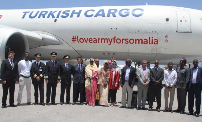 Thy Somaliye Yardım İçin Uçtu