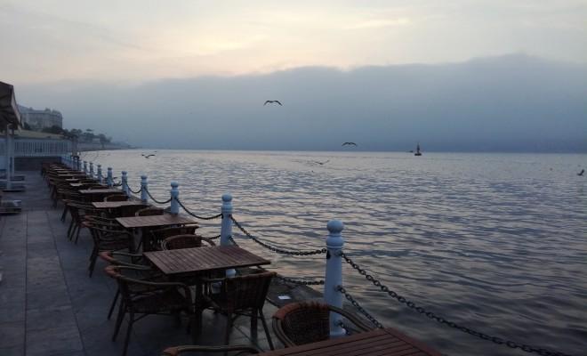 İstanbulda Yoğun Sis