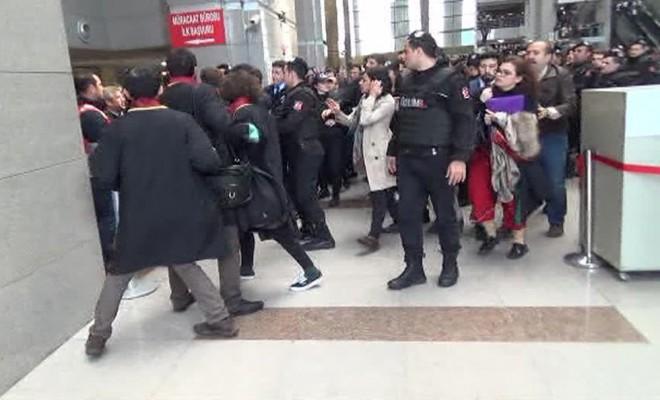 İstanbul Adliyesinde Arbede: 8 Avukat Gözaltına Alındı