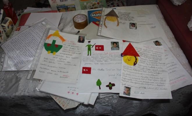 Minik Kalplerin İlk Mektubu Güneydoğu Kahramanlarına