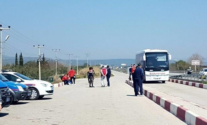 Takım Otobüsleri Maça Giderken Haczedildi