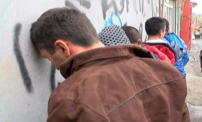 İstanbulda Uyuşturucu Operasyonu Kamerada