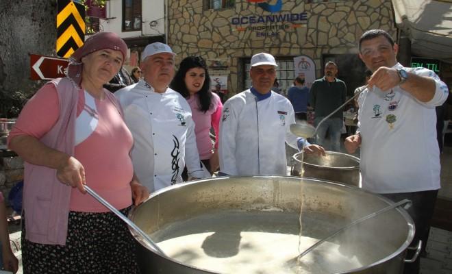 Fethiyede Kuzugöbeği Mantarı Festivali Başladı