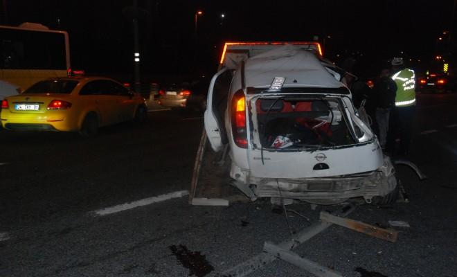 Eyüpte Trafik Kazası : 2Si Ağır 5 Yaralı