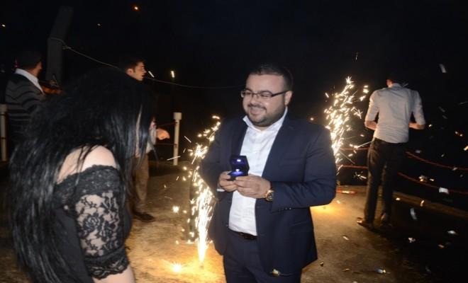 Düğünde Sürpriz Evlenme Teklifi