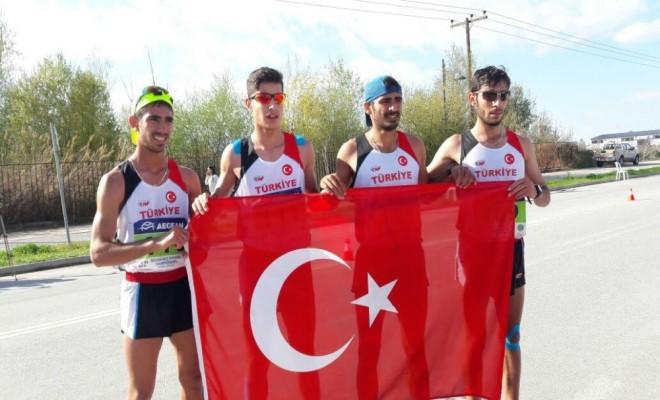 Balkan Yürüyüş Şampiyonasında 7 Madalya